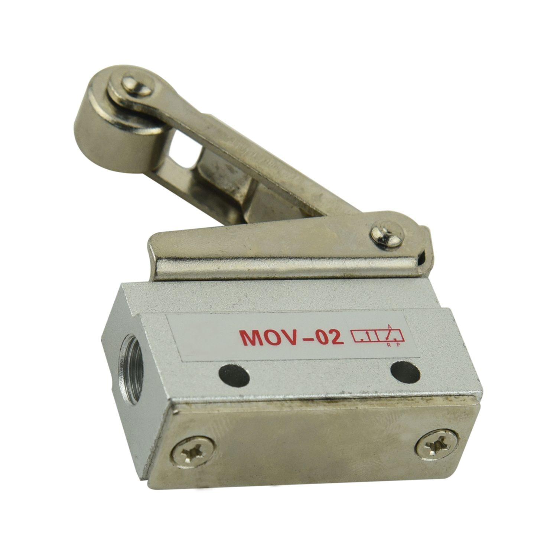 MOV-02 8.5mm 2 Position 3 Way Roller Lever Mechanical Valve