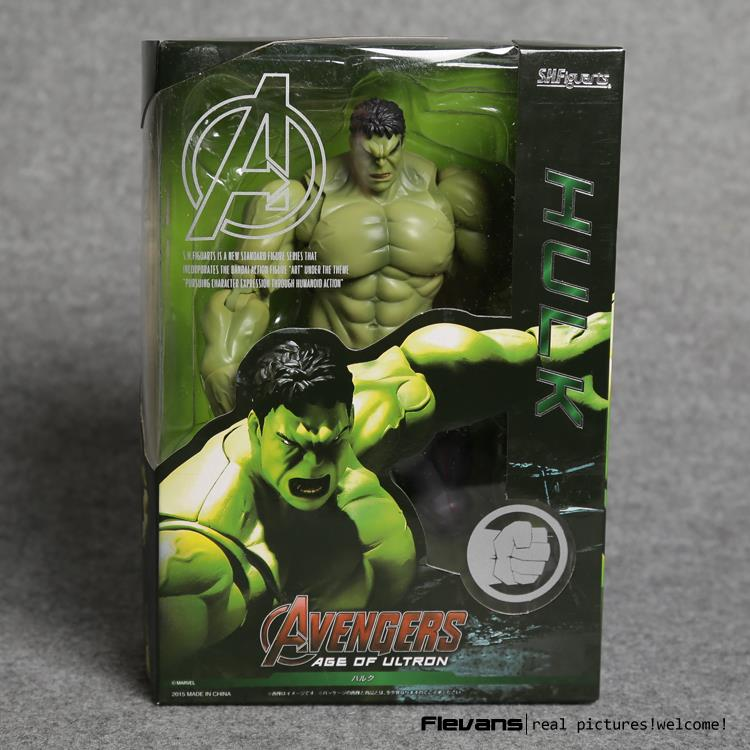 Avengers SHF S.H.Figuarts Hulk PVC Action Figure Collectible Model Toy 19cm avengers movie hulk pvc action figures collectible toy 1230cm retail box