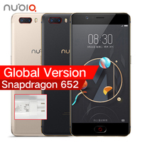 Global Version ZTE Nubia M2 4G LTE Snapdragon 625 Cell Phone 5 5 1080P 4G RAM