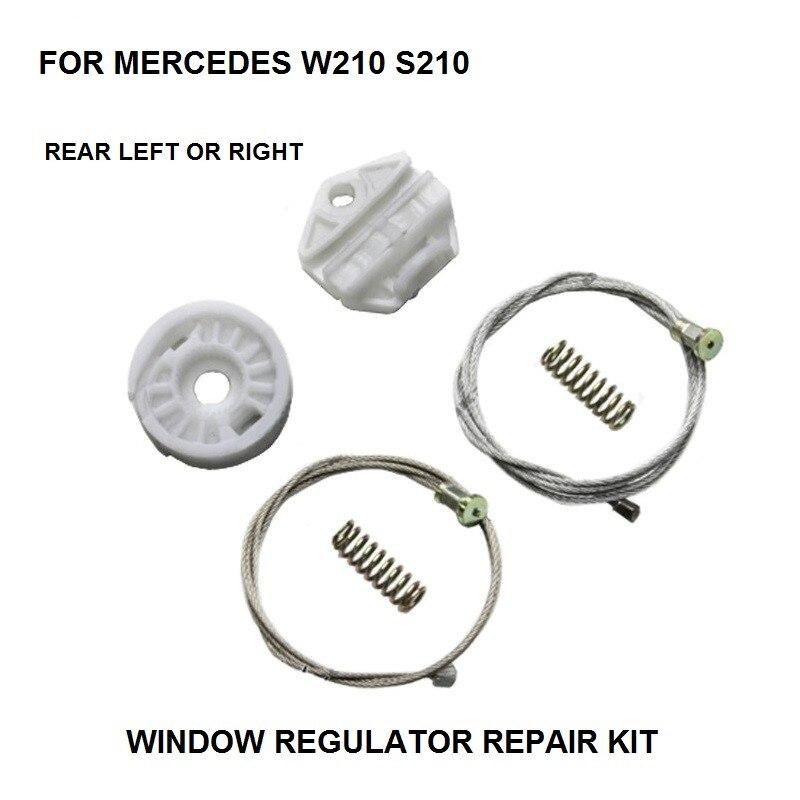 Window Regulator Winder Repair Kit For MERCEDES E Class W210 S210 REAR LEFT Or RIGHT SIDE