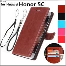 Fundas Huawei Honor 5C Kaarthouder Cover Case Voor Huawei Honor 5C Pu Lederen Telefoon Case Wallet Flip Cover Kwaliteit holster Tassen