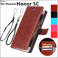 Fundas Huawei Honor 5C card holder cover case for Huawei Honor 5C Pu leather phone case wallet flip cover Quality Holster bags