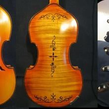 "Барокко Стиль SONG Brand master 5x5 string 1"" viola d'Amore, резьба сзади#14093"