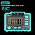 VC60B + 1000 в цифровой Авто Диапазон Измеритель сопротивления изоляции тестер Мегаомметр меггер Высокое напряжение Светодиодная индикация 1999 ...