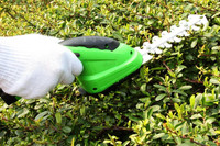 East Power Bonsai Tools 3.6V Combo Lawn Mower Li Ion Rechargeable Hedge Trimmer Grass Cutter Cordless Garden Tools ET1205 2in1