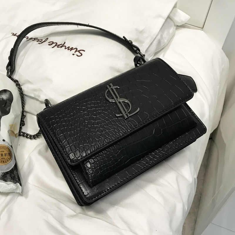 6dbcb6c44657 Роскошные сумки женские сумки дизайнерские сумки для женщин 2018 кожаные ...