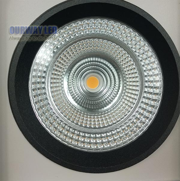 2017 New Arrival High End Product 9w 15w 25w 40w Rotatable Downlight Fixture Recessed