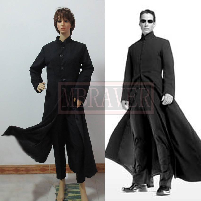Free shipping The Matrix Neor Cosplay Costume any size