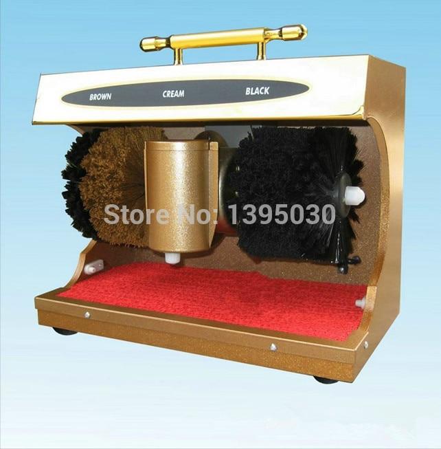 Shoe polishing machine Automatic Semiportable Horizontal Induction shoe cleaning machine 1 pc 220v 100w automatic shoe machine utilities electric induction luxurious hall household brush shoes