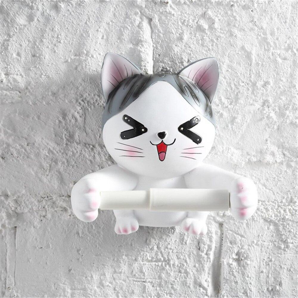 Criativo dos desenhos animados gato animal bandeja