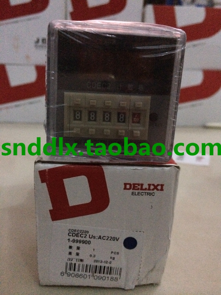 ФОТО Delixi digital counter CDEC2 (DH48J) AC220V 8 feet