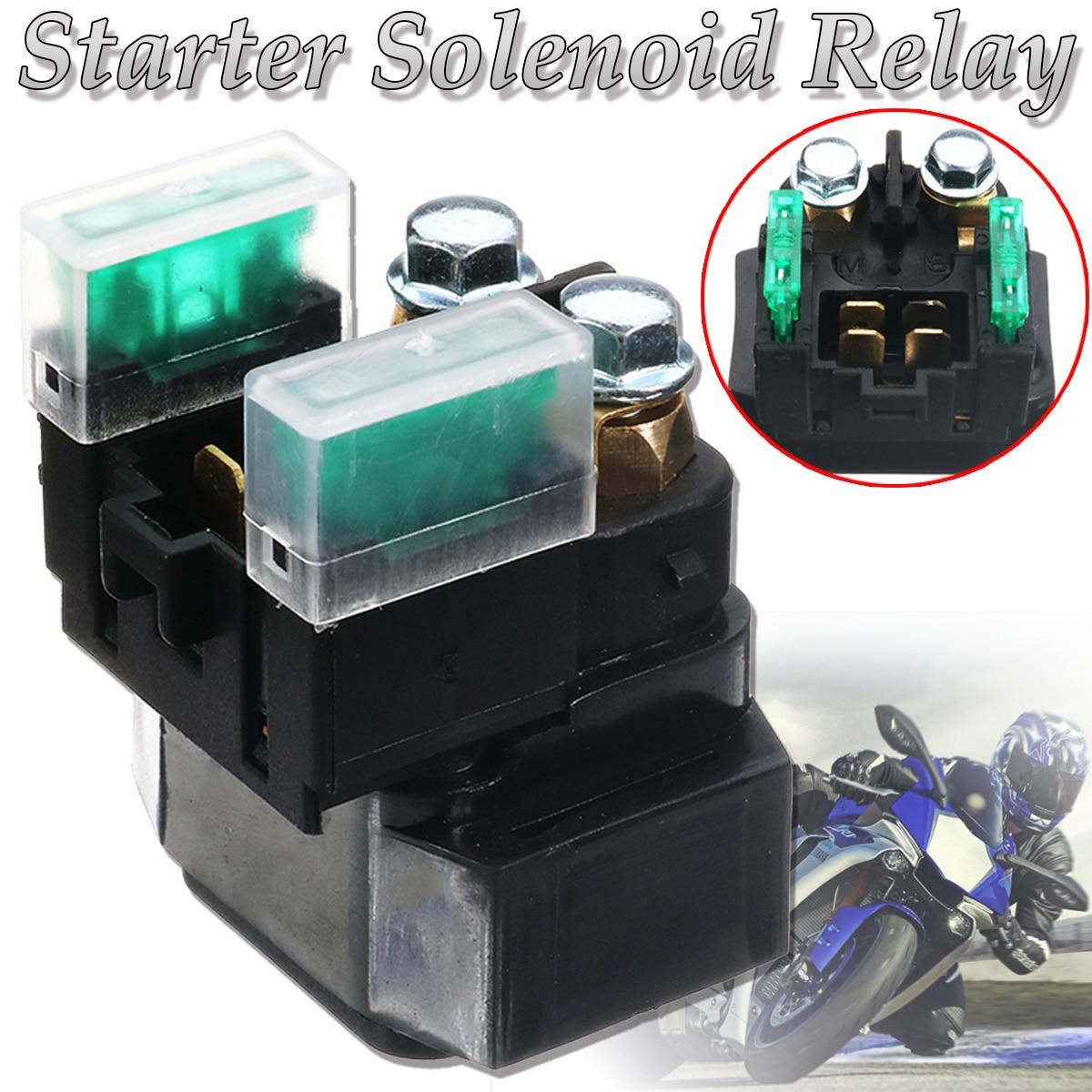 Motorcycle Electrical Parts Starter Solenoid Relay for Yamaha YFM 350/400/450/660 Grizzly Kodiak Raptor
