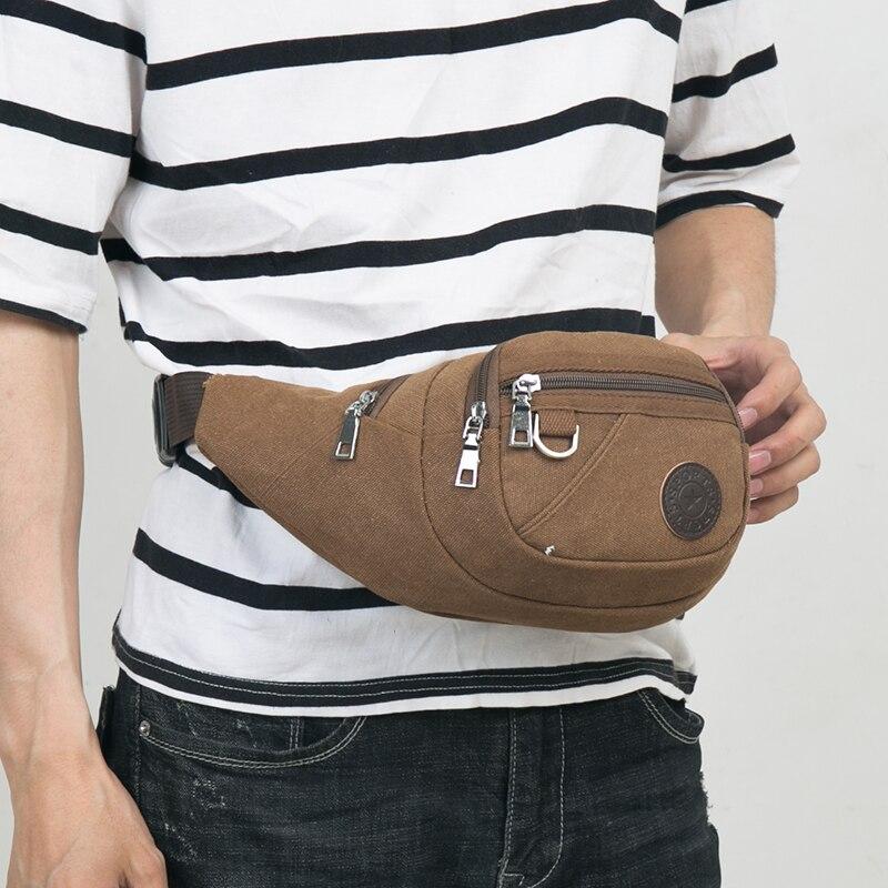 Waist Bag For Men Women Multifunction Nylon Bum Bag Heuptas Waist Bags Mobile Phone Wallet Travel Pouch Banane Sac Waist Packs