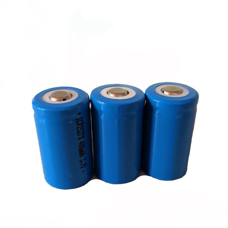 2017 ICR 15270 400 mAh 3 7V Li ion Rechargeable Battery