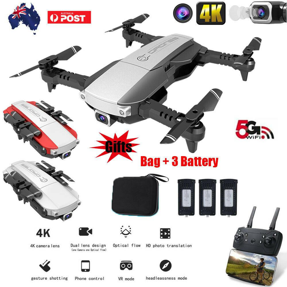 Drone x pro 5G Selfie WIFI FPV with 4K HD Dual Camera Foldable RC Quadcopter Remote Control Toys Drone image