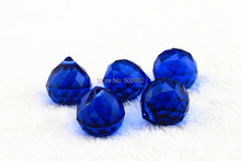 30mm 5pcs/lot Crystal Bead Curtain Lamp Ball Pendant Hanging Ball Prism for Chandelier Linghting DecorationPendants