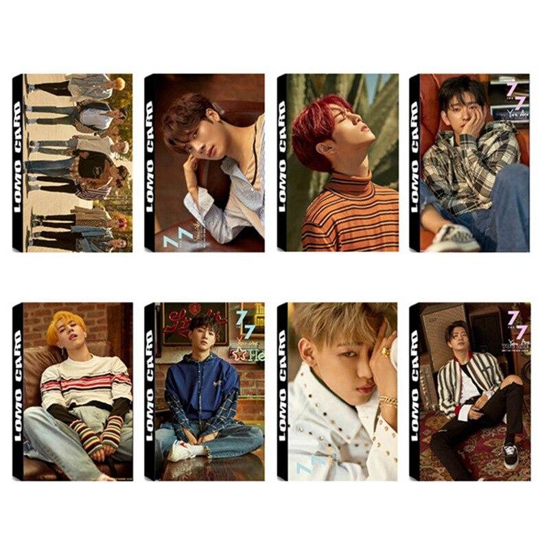 Stationery Set Methodical 30pcs/set Popular Got7 Album Lomo Cards New Fashion Self Made Paper Photo Card Stationary Set Latest Fashion Office & School Supplies