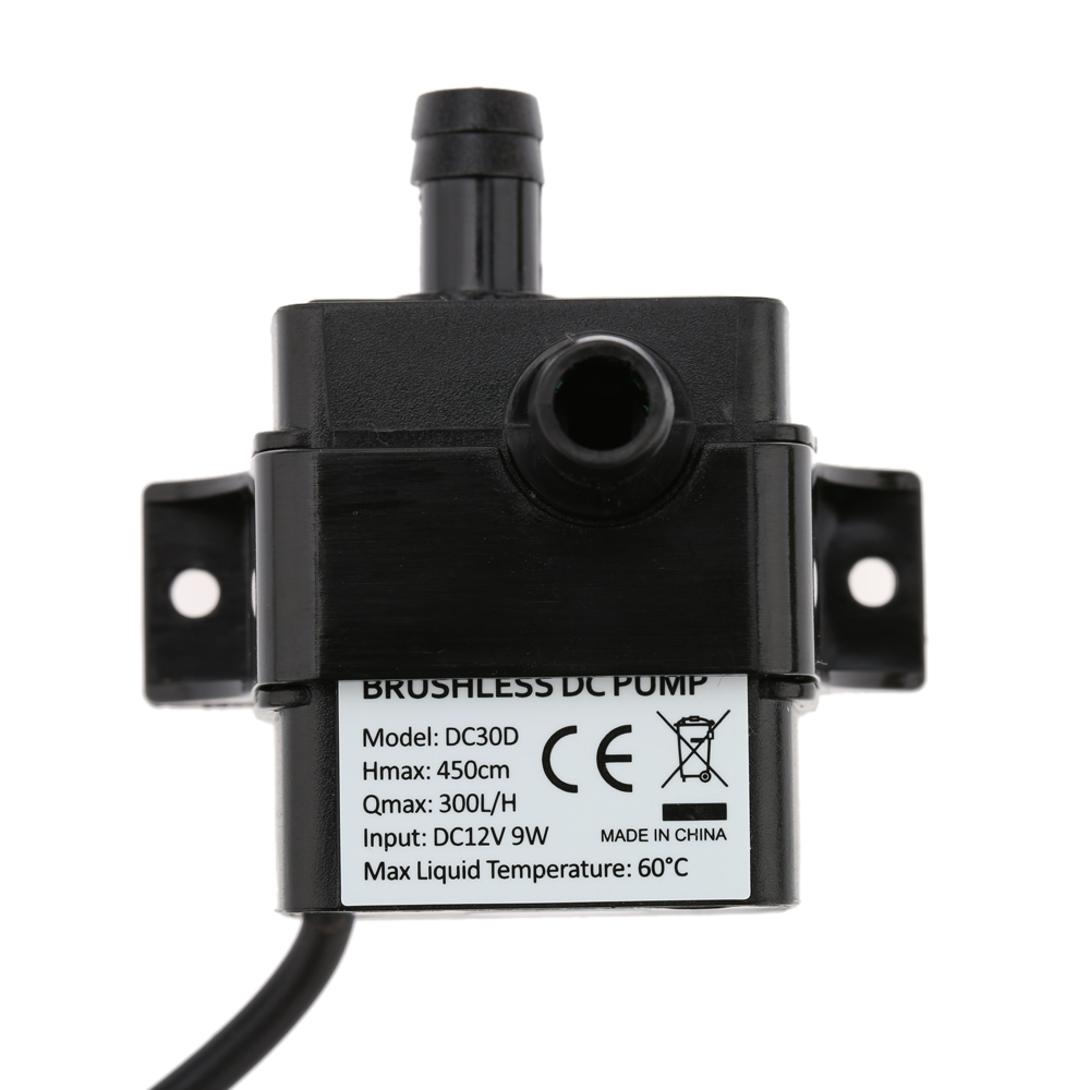 Pumps (water) Dc 12v 4.2w Mini Brushless Submersible Water Pump Fountain Flowerpot Fish Tank Reputation First