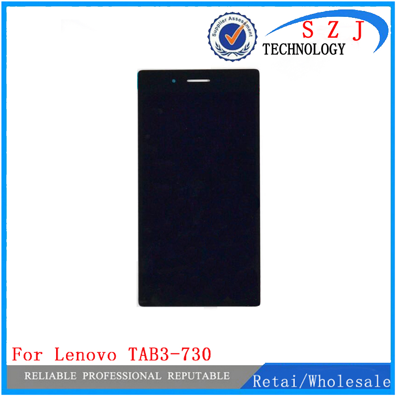 New 7 inch For Lenovo TAB3-730 Tab 3 730 730F 730M Touch Screen Panel Digitizer+LCD Display Assembly Replacement Free Shipping omg aaa replacement mobile phone lcd screen for iphone 6 4 7 inch display with digitizer touch smart phone screen assembly