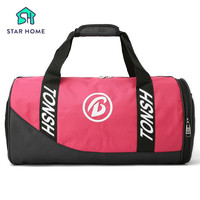 STARHOME Gym Bag With Shoe Compartment Gym Sport Bag For Women Fitness