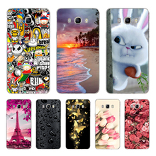 цена на For Samsung Galaxy J7 2016 Cover Case fundas for Samsung Galaxy J7 2016 J710F Cover Back Cases for Samsung J7 2016 Phone Case 3D