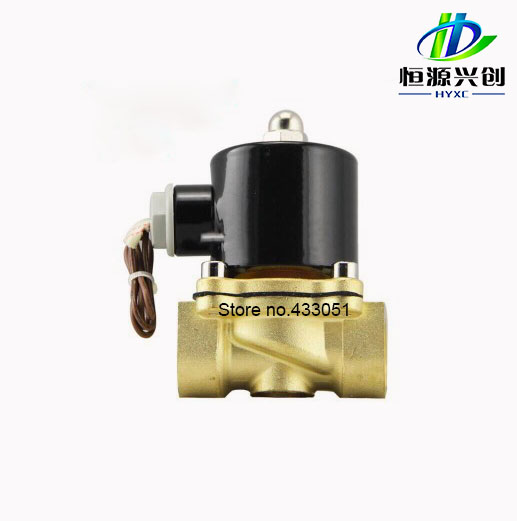 Free Shipping 1/2,3/4,1,2, AC220V Energy-saving solenoid valve for Water Oil Air Gas Working long hours not hot 2w 250 25b plastic energy saving long term power not heat type energy water gas solenoid valve