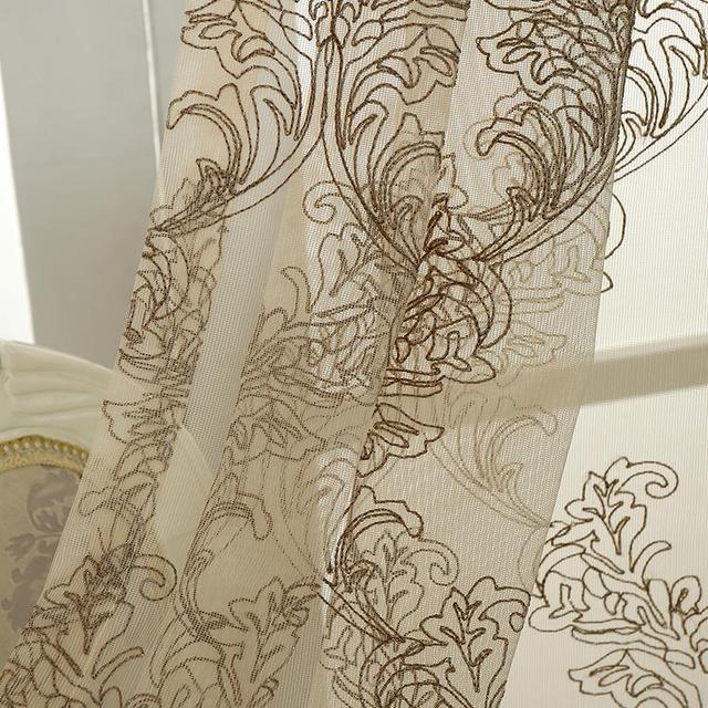 Moderne Stoffe mode neues design moderne jalousien garn stickerei bildschirme tüll