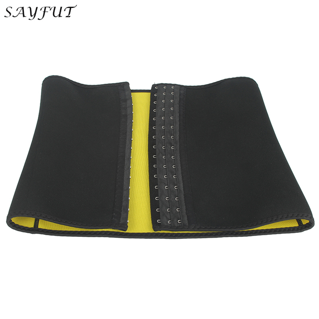Corset Belt Sweat Neoprene Sauna Shapers Slimming Belt Waist Cincher Girdle for Weight Loss Women & Men Tummy Contorl Shapewear 3