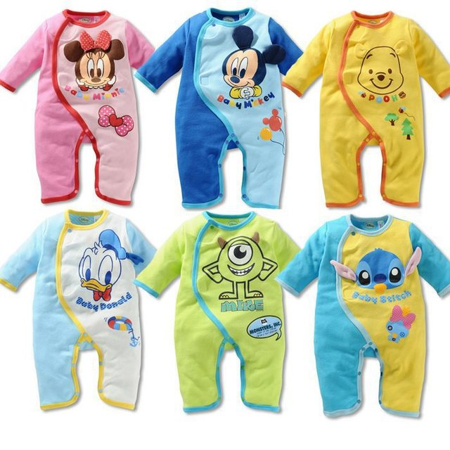 f4aa4b3bbe44 wholesale! New Autumn winter girl boy baby cartoon cotton suit ...
