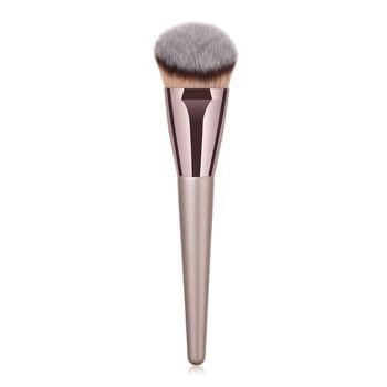BBL 1 sztuka szampańskie złoto precyzyjny podkład w płynie pędzel Perfect Pro stożkowe polerowanie rzeźbienie kątowe pędzle do makijażu narzędzia tanie i dobre opinie NYLON Włosy syntetyczne Włókna wełny 1 piece Fundacja brush562 Drewna Pędzel do makijażu BBL Professional Makeup Brushes
