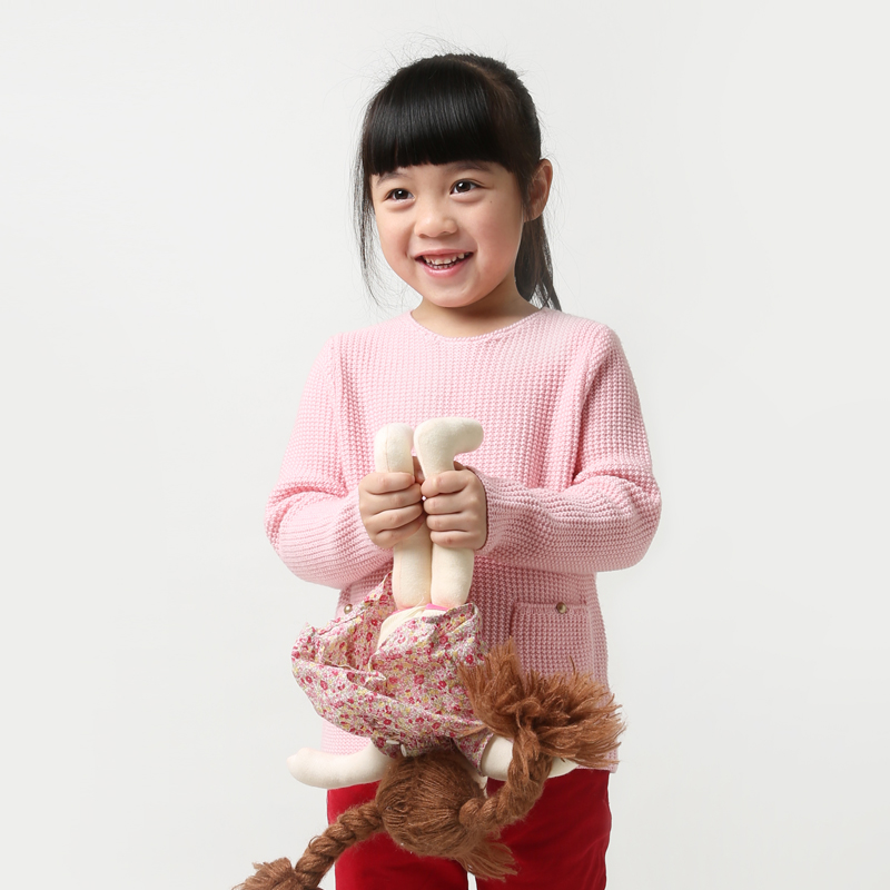 children sweater girls 3-10 years wool kids pullovers sweater for girls knitted girls pink brand spring sweaters with pocket girls cute knitted sweater with skirt kids set wear sweet style with bow knot for spring