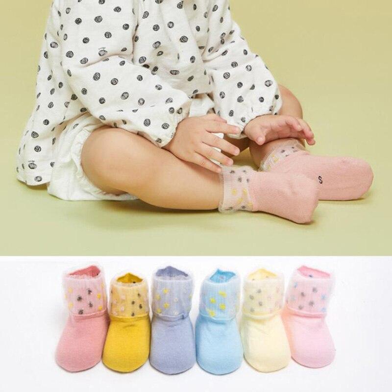 Freundlich 2018 Neue Spitze Farbe Passenden Kinder Baby Kleinkind Socken Baby Baby Boden Fuß Socken Um 50 Prozent Reduziert
