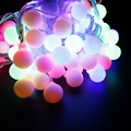 RGB10m 100LED Christmas led lantern LED Garland LED strip LED string Xmas holiday lighting festas wedding decoration Ball lights