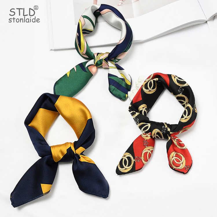 35*85cm New Fashion Women Neckerchief Hair Tie Band Chic