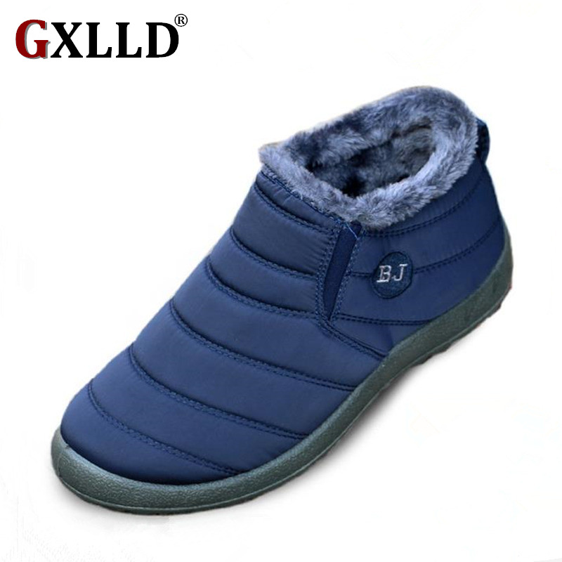 GXLLD Women Winter Shoes Solid Snow Boots Waterproof size