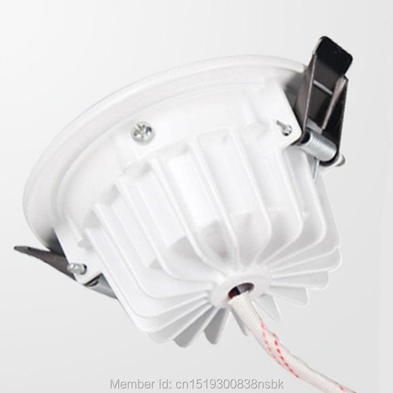 (50PCS / Lot) 100-110LM / W Carcasa gruesa 5W 7W 12W 18W 30W 30W LED - Iluminación LED - foto 5