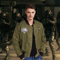 Mens Flight Jacket Metal Gear Solid V The Phantom Pain Venom Snake Jacket Olive Coat Baseball Uniform for Man