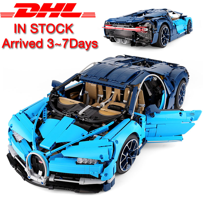 20086 Technic Car Series Supercar Bugattis Model Building Blocks Bricks Sets Kids Toys Compatible with New 42083 Assembly Gifts(China)