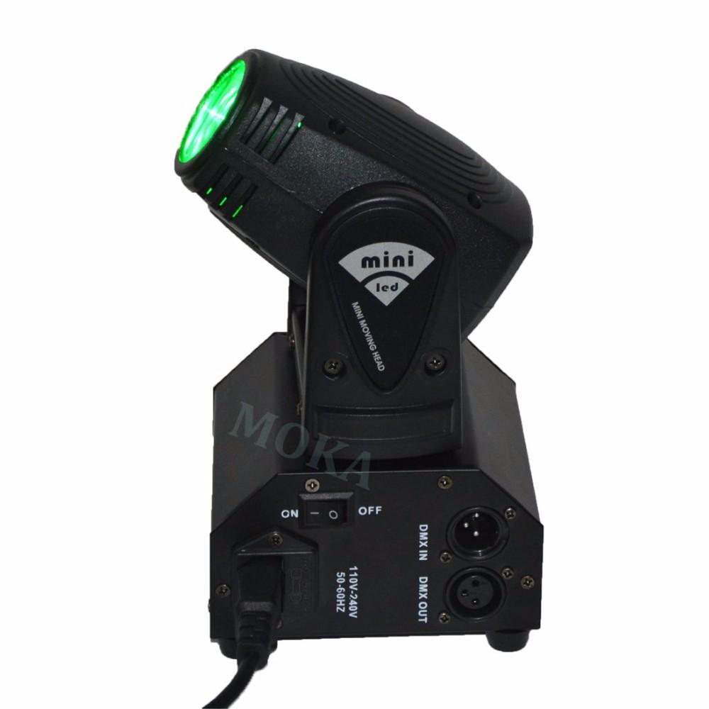 10W MINI LED MOVING HEAD LIGHT 2