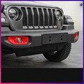 Front Stoßstange Nebel Licht Lampe Dekoriert Rahmen Für Jeep Wrangler 2018 ACA112|Chrom-Styling|   -