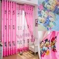 Eco-friendly Mouse Child Bedroom Window Curtain Cartoon Children Kids Bedroom Curtains Custom Kids Curtains