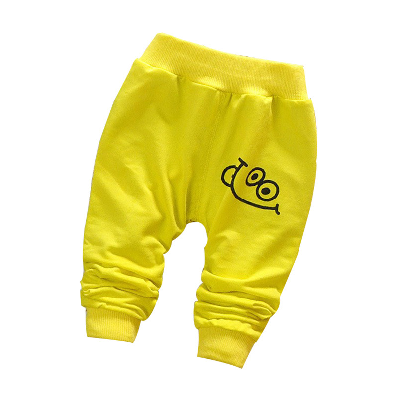 2015 Autumn new cotton baby pants cute pants for baby boy/girl  sport harem pants 0-2 year kids pants