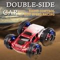 ET YE8885 6CH Double-side Dublê de controle Remoto carro 4WD veículo 360 Graus de Giro e Vira o Carro Dublê RC com luz intermitente