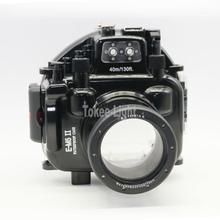 40M 130ft ดำน้ำกล้องสำหรับ Olympus O MD E M5 Mark II OMD EM5 II + 12 50 f/3.5 6.3 เลนส์