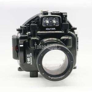 Image 1 - 40M 130ft Waterproof Underwater Diving Camera Housing Case for Olympus O MD E M5 Mark II OMD EM5 II + 12 50 f/3.5 6.3 Lens