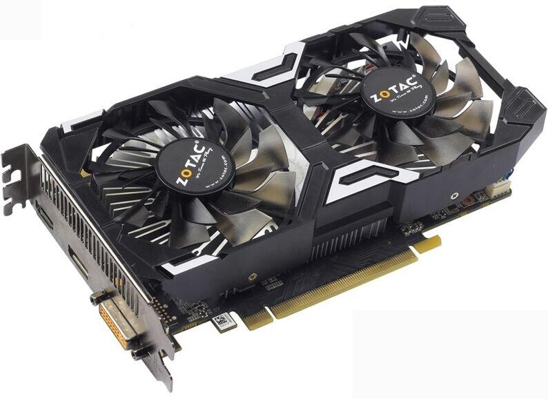 Se Original palit GeForce GTX 950 gamerock Premium Edition 2GD5 trueno tarjeta de vídeo GDDR5 tarjetas gráficas nVIDIA GTX950 GTX 950 2 GB 1050ti 1050 ti