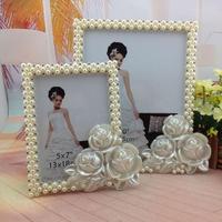 1 PC Biały perła diament żywicy ramka na zdjęcia 10 cal producenci sprzedają studio ślub home prezenty wakacyjne SE6D5