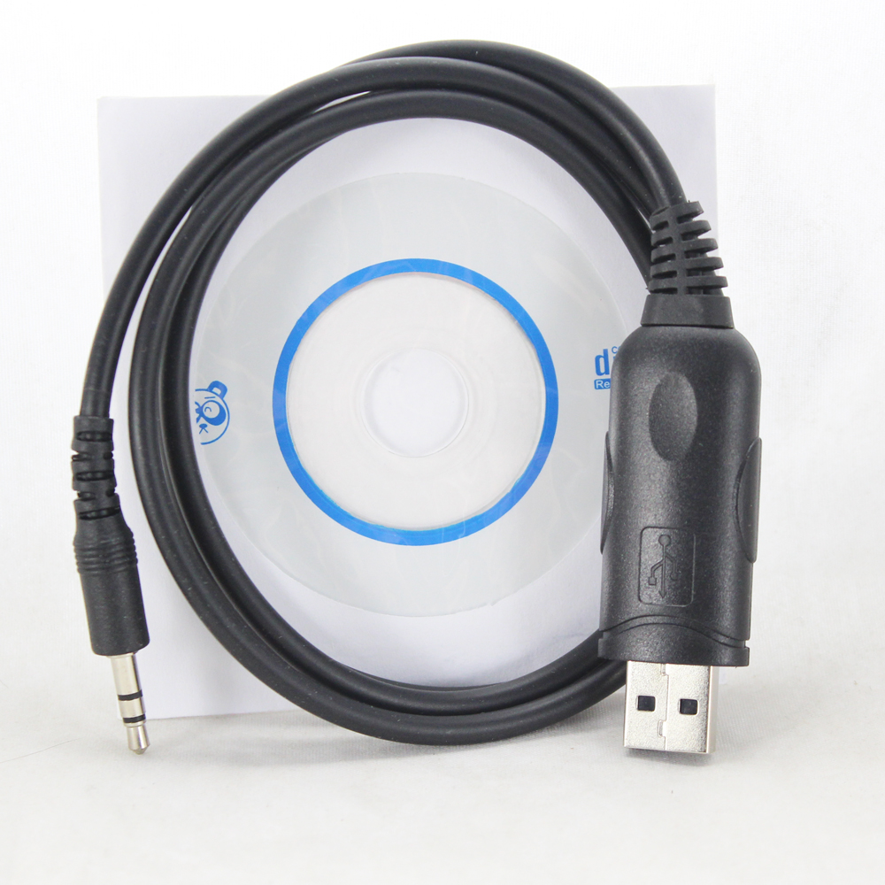 QYT USB Programming Cable For QYT KT-8900 KT-8900R KT-8900D KT-7900D MINI-9800 JT-6188 UV-2501 UV-5001 Mobile Radio Fit Win10