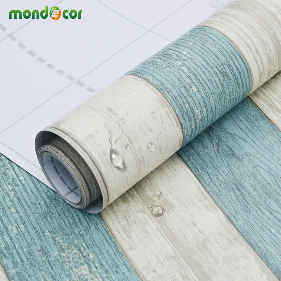 3M/5M/10M Self Adhesive Wall Paper Furniture Wall Stickers Bedroom Living Room Background Kitchen Cabinet Waterproof Wallpaper
