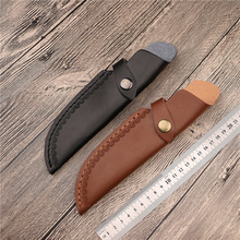 Открытый нож Покрытие оболочки охотничьи ножи держатели кобура ремень кожаный Открытый Инструменты